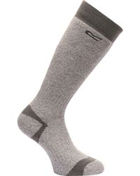 Regatta - Grey 'wellington' Socks - Lyst