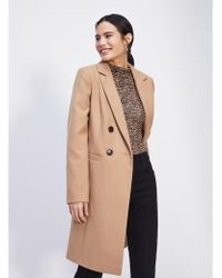 4a1a59e7e98 Lyst - Women s Miss Selfridge Long coats Online Sale