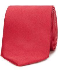 Red Herring Red Slim Tie