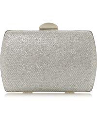 Roland Cartier - 'boxy' Textured Box Clutch Bag - Lyst