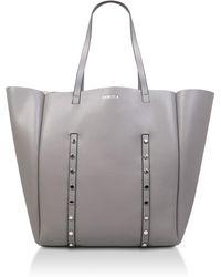 Carvela Kurt Geiger - Grey  claudia Stud Shopper  Shopper Bag - Lyst d9e9140e83bba