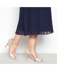 460abbfc6f3 Jenny Packham - Light Pink  pasha  High Stiletto Heel Ankle Strap Sandals -  Lyst