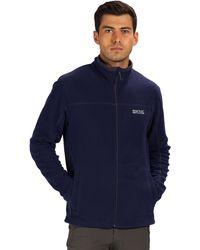 Regatta - Blue 'fairview' Full Zip Fleece - Lyst