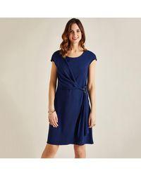 Yumi' - Retro Inspired Shift Knee Length Party Dress - Lyst