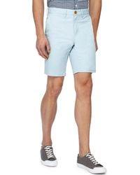 Racing Green - Big And Tall Aqua Chino Shorts - Lyst