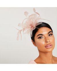 Quiz Mauve Flower Headband Fascinator - Pink