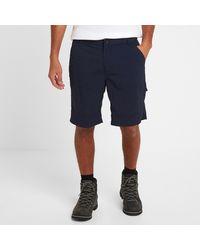 Tog 24 Navy Rowland Ripstop Shorts - Blue