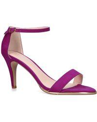 18157d1fef1b Carvela Kurt Geiger - Purple  kink  Mid Heel Sandals - Lyst