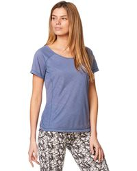 Craghoppers - Blue Nosilife Harbour Short Sleeved Top - Lyst