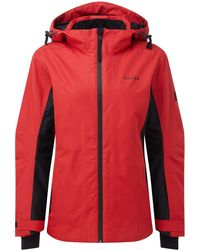 4710743149 Tog 24 - Rouge Red And Black Piper Womens Waterproof Insulated Ski Jacket -  Lyst