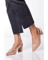 4749dd29c2f2 New Look Wide Fit Silver Comfort Flex Shimmer Pointed Kitten Heels ...