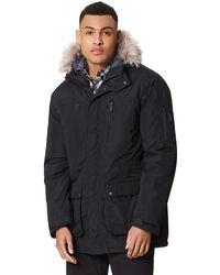 Regatta - Black 'salinger' Insulated Hooded Waterproof Parka - Lyst