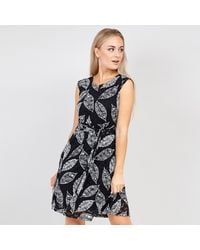 Izabel London - Leaf Print Lace Dress - Lyst