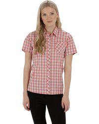 Regatta - Red 'honshu' Short Sleeved Shirt - Lyst