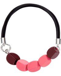 Hobbs - Pink 'carmella' Necklace - Lyst