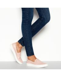 Faith - Natural 'kendall' Slip On Trainers - Lyst