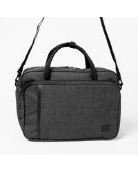 Herschel Supply Co. Grey 'gibson' Laptop Bag - Black