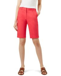 Hobbs Dark Pink 'bay' Shorts - Red