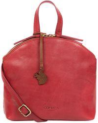 Conkca London - Chilli Pepper 'ingrid' Leather Cross Body Bag - Lyst