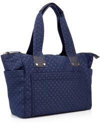 Red Herring - Navy Spot Print Nylon Shopper Bag - Lyst
