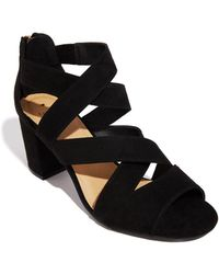 fbb6080c4e6 Oasis - Black  sarah  Strappy Block Heels - Lyst