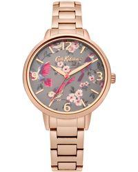 Cath Kidston Ladies Gold Bracelet Watch Ckl001rgm - Multicolour