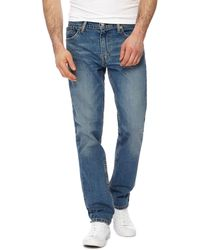 a07167f3dab Levi's 512 Taper Chainrinse Jeans in Blue for Men - Lyst