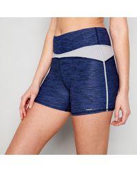 Freya - Navy Marl Sport Shorts - Lyst