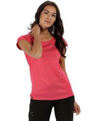 Regatta - Pink 'hyper-reflect' T-shirt - Lyst