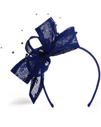 Phase Eight - Blue Adeline Faux Pearl Headband - Lyst