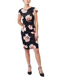 Precis Petite - Petite Desert Rose Print Dress - Lyst