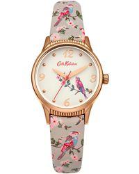 Cath Kidston Ladies Bird And Floral Strap Ckl013erg - Grey