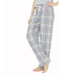 Dorothy Perkins - Hello Weekend Check Bottoms - Lyst