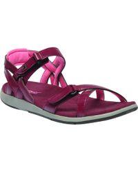 Regatta - Black 'lady Santa Cruz' Sandals - Lyst