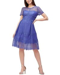 Precis Petite - Multi Lace Prom Dress - Lyst