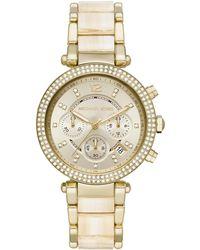 Michael Kors Parker Horloge Mk6831 - Metallic