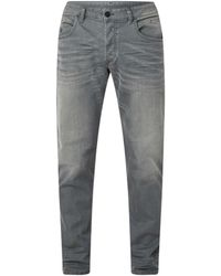 DIESEL D-bazer Tapered Fit Jeans - Grijs