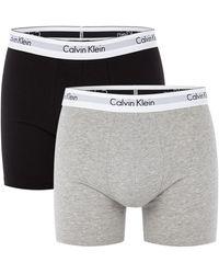 Calvin Klein 2-pack 1087 Boxershorts - Zwart