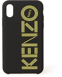 KENZO Logo Telefoonhoes Voor Iphone X / Xs - Zwart