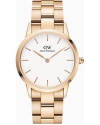 Daniel Wellington Iconic Link Horloge Dw00100209 - Metallic