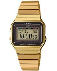 G-Shock Vintage Horloge A700weg-9aef - Metallic