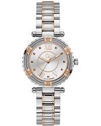 Gc Watches Lady Diver Cabel Horloge Y41003l1mf - Metallic