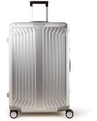 Samsonite Lite-box Alu Spinner 76 Cm - Metallic