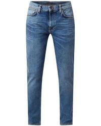 Nudie Jeans Lean Dean Slim Fit Jeans Van Biologisch Katoen - Blauw