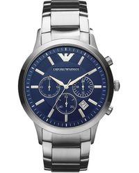 Emporio Armani Horloge Ar2448 - Metallic
