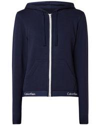 Calvin Klein Pyjamavest Met Logoband - Blauw