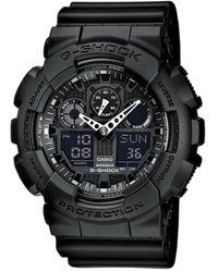 G-Shock Horloge Ga-100-1a1er - Zwart