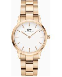 Daniel Wellington Iconic Link Horloge Dw00100213 - Metallic