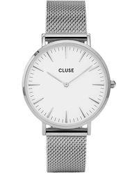 Cluse La Boheme Horloge Van Messing Cl18105 - Metallic