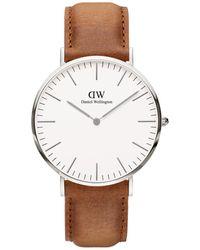 Daniel Wellington Horloge Durham Dw00100110 - Metallic